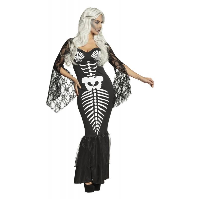 Costume squelette pour femme