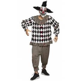 Costume clown effrayant pour adulte