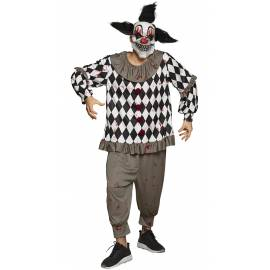 Costume pour adulte scary clown