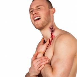 Cicatrice en latex morsure vampire