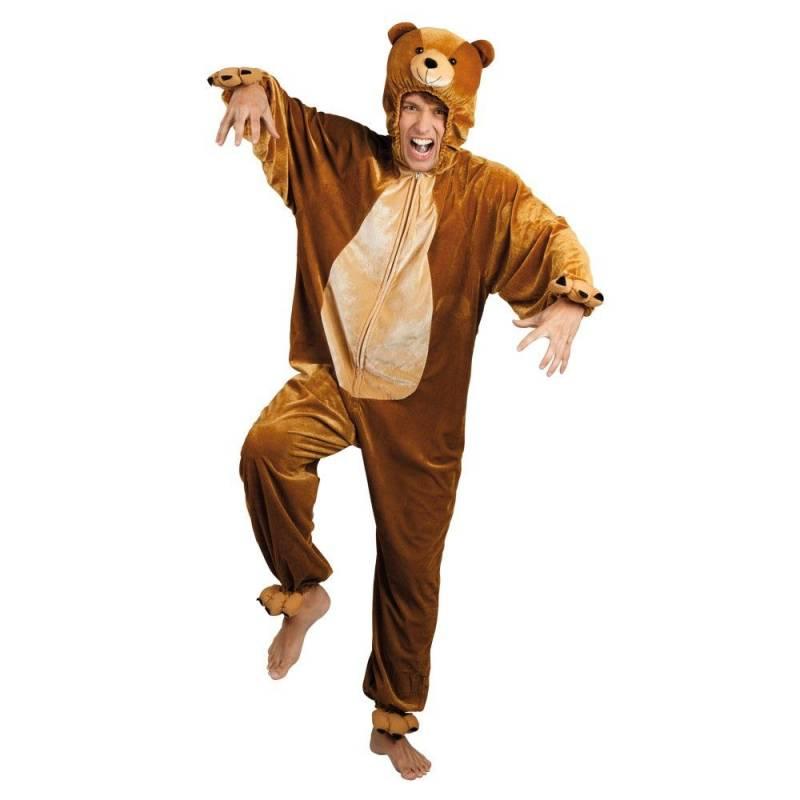Déguisement intégral d'ours adulte
