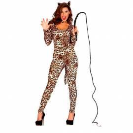 Déguisement adulte femme léopard
