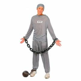 Déguisement adulte de prisonnier