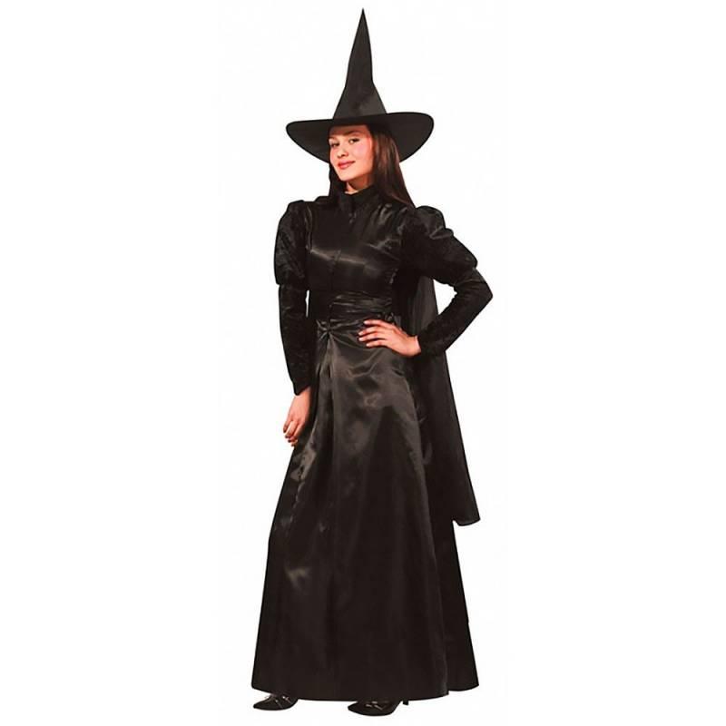 Déguisement adulte de sorcière, noir