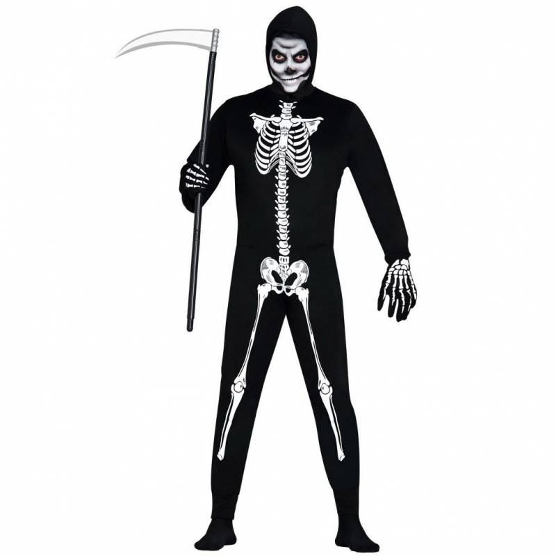 Déguisement adulte de squelette