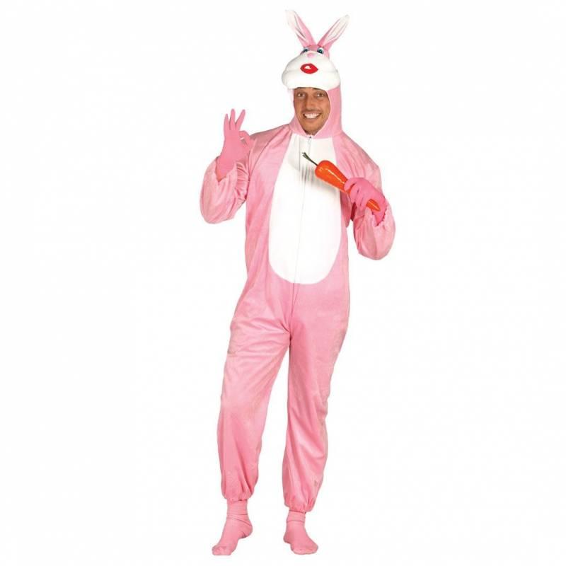 Costume lapin rose deguisement animaux