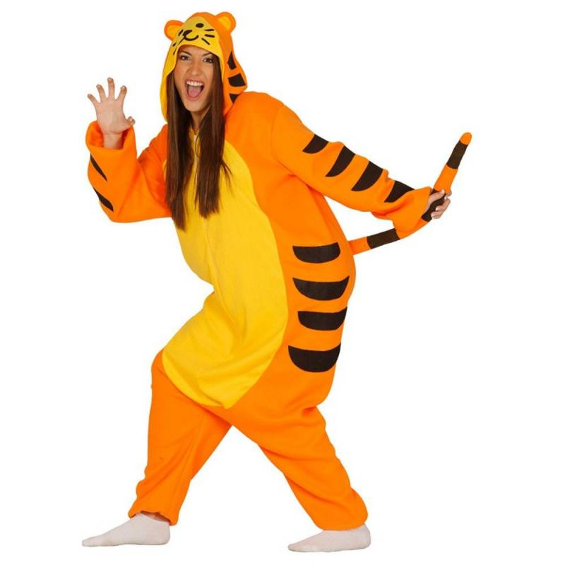 Déguisement adulte de tigre