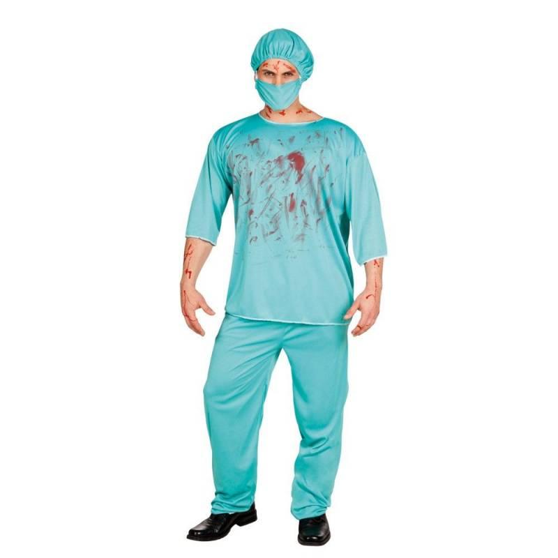 Déguisement adulte de chirurgien sanglant