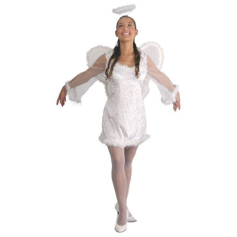 Déguisement adulte d'ange (femme)