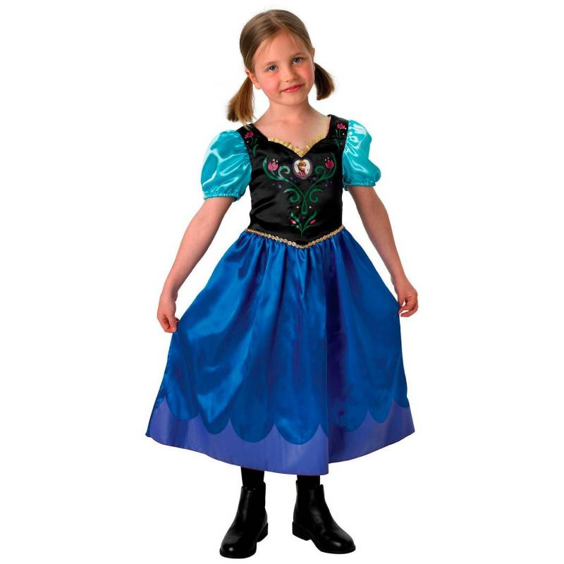 Déguisement enfant de la Reine des neiges (Anna)