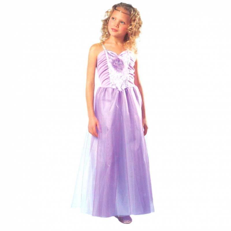 Robe parme pour fille de Barbie pegasus