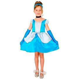 robe cendrillon bleu pour enfant