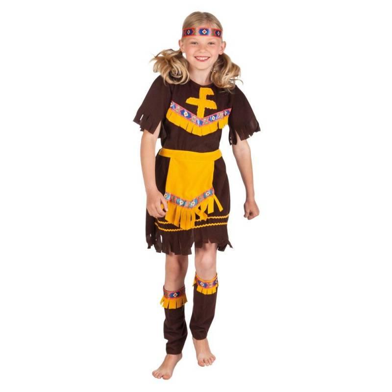 Déguisement enfant d'indienne