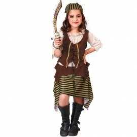 Déguisement enfant de pirate fille