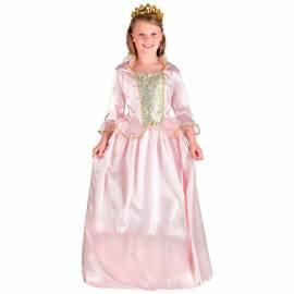 Robe rose enfant de princesse