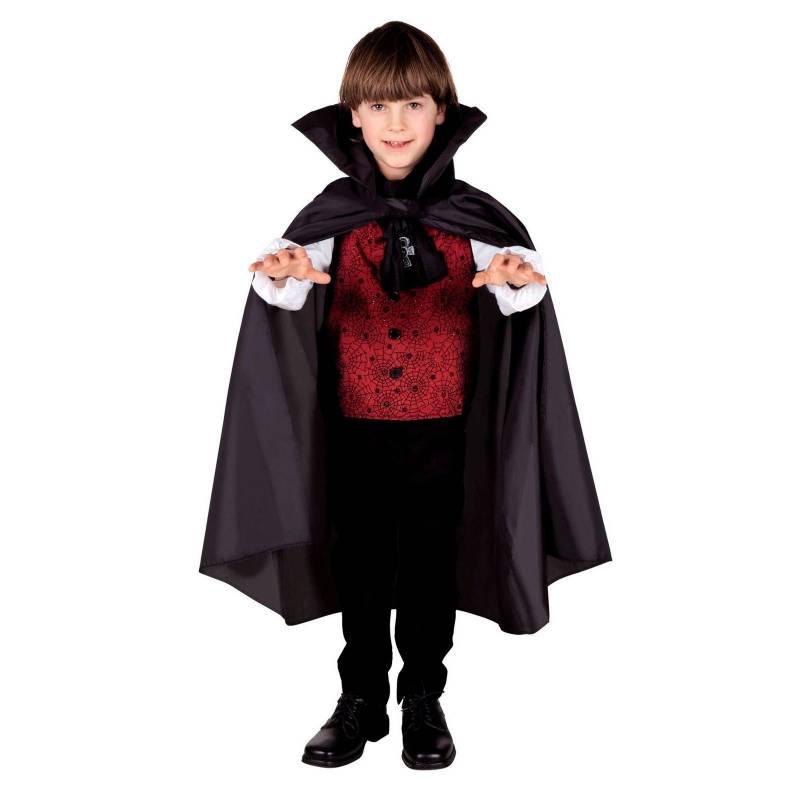 Cape noire de 75 cm pour enfant