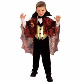 Déguisement enfant de vampire avec cape