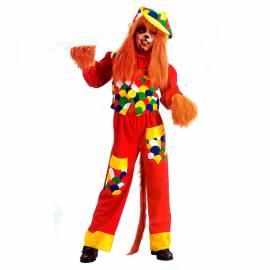 Déguisement enfant de chien clown