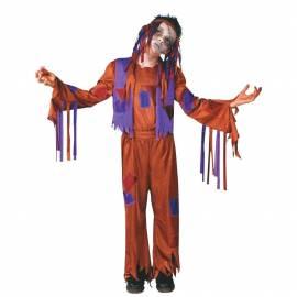 Déguisement enfant de hippie zombie
