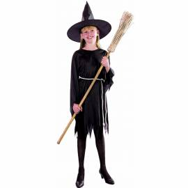 Déguisement enfant de sorcière noire